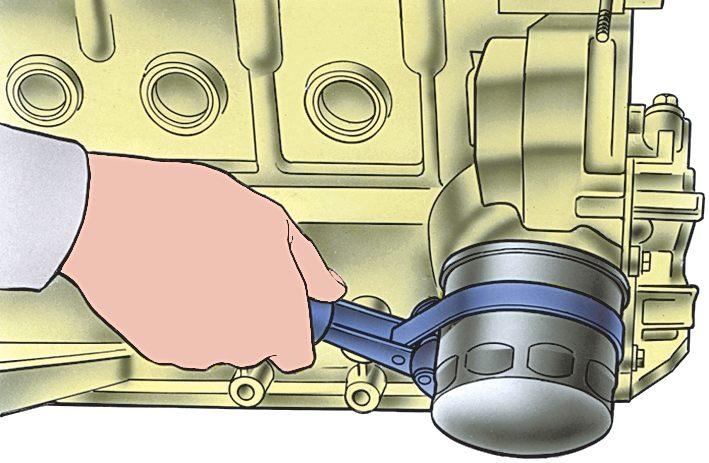 Замена масла в двигателе ваз 2115 своими руками